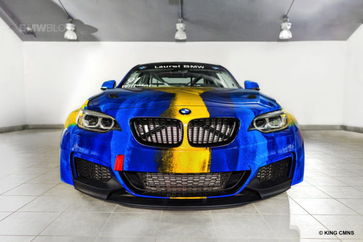 Laurel BMW Partners with ST Racing 04 750x500