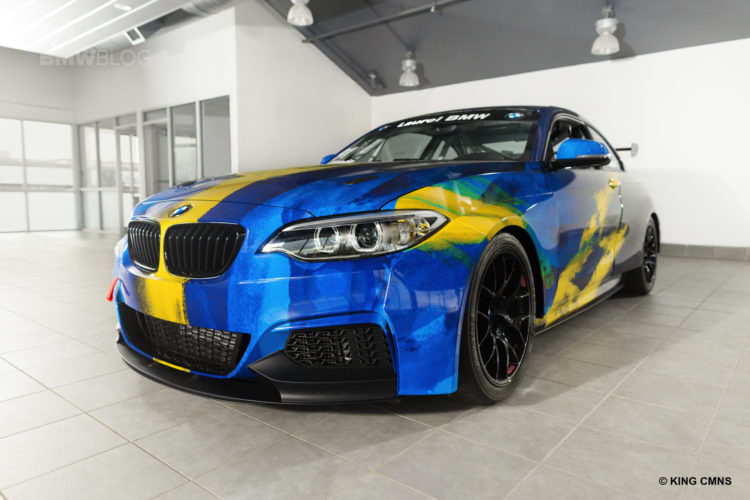 Laurel BMW Partners with ST Racing 05 750x500