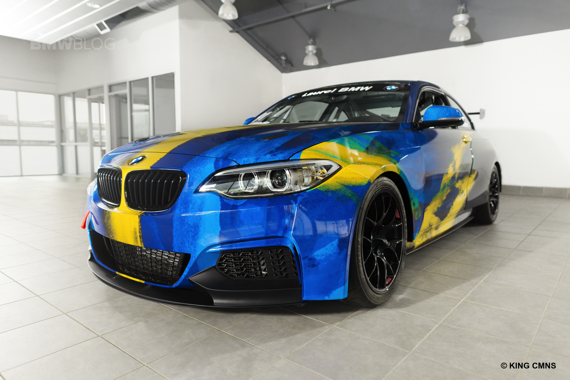Laurel BMW Partners with ST Racing 05