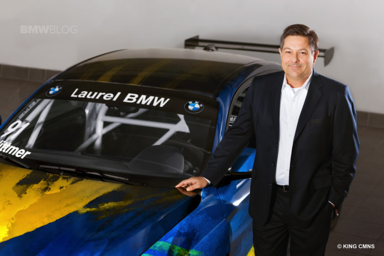 Laurel BMW Partners with ST Racing 24 750x500