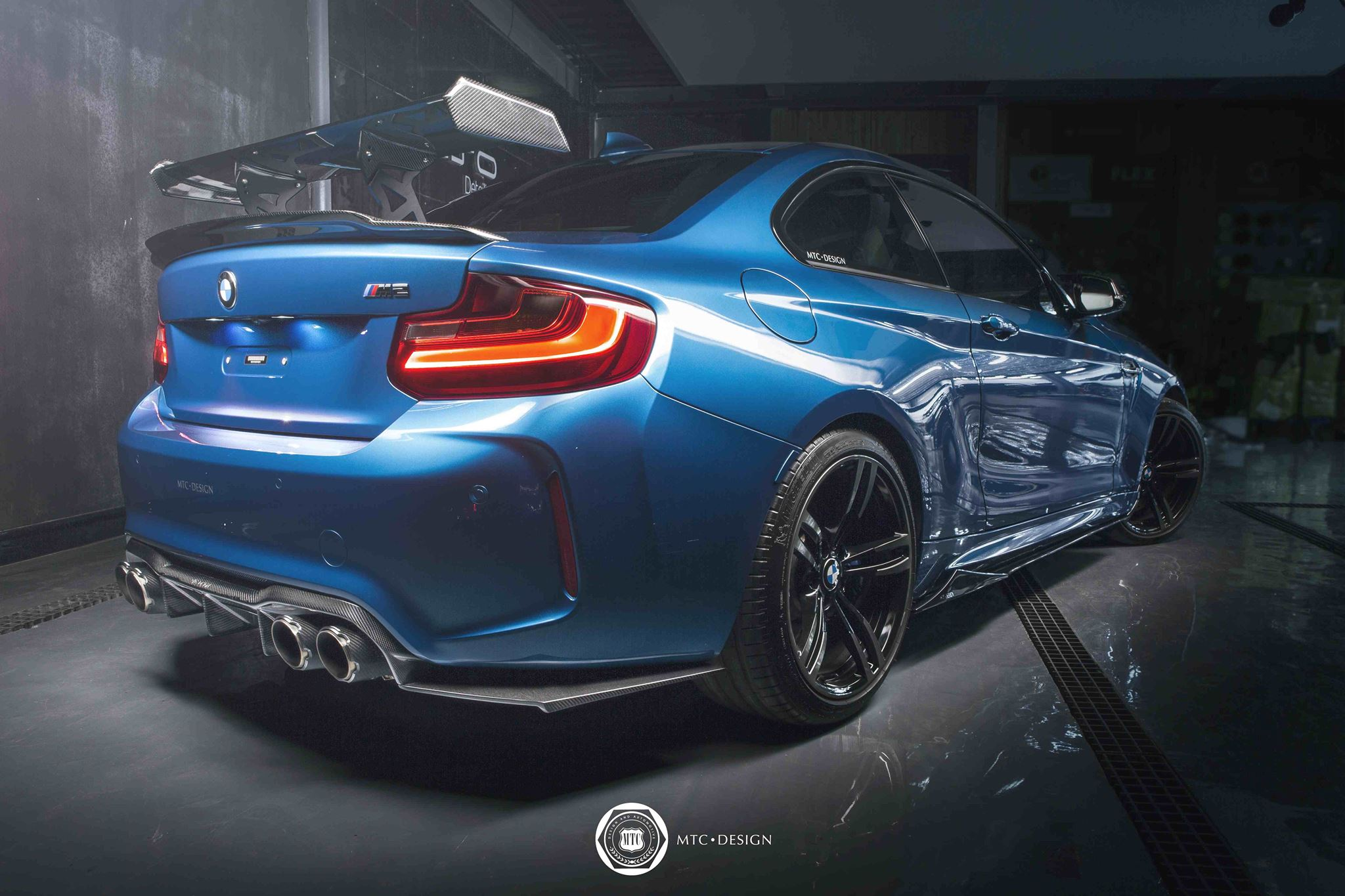 Mtc Design Gives This Bmw M2 A Racing Ready Look