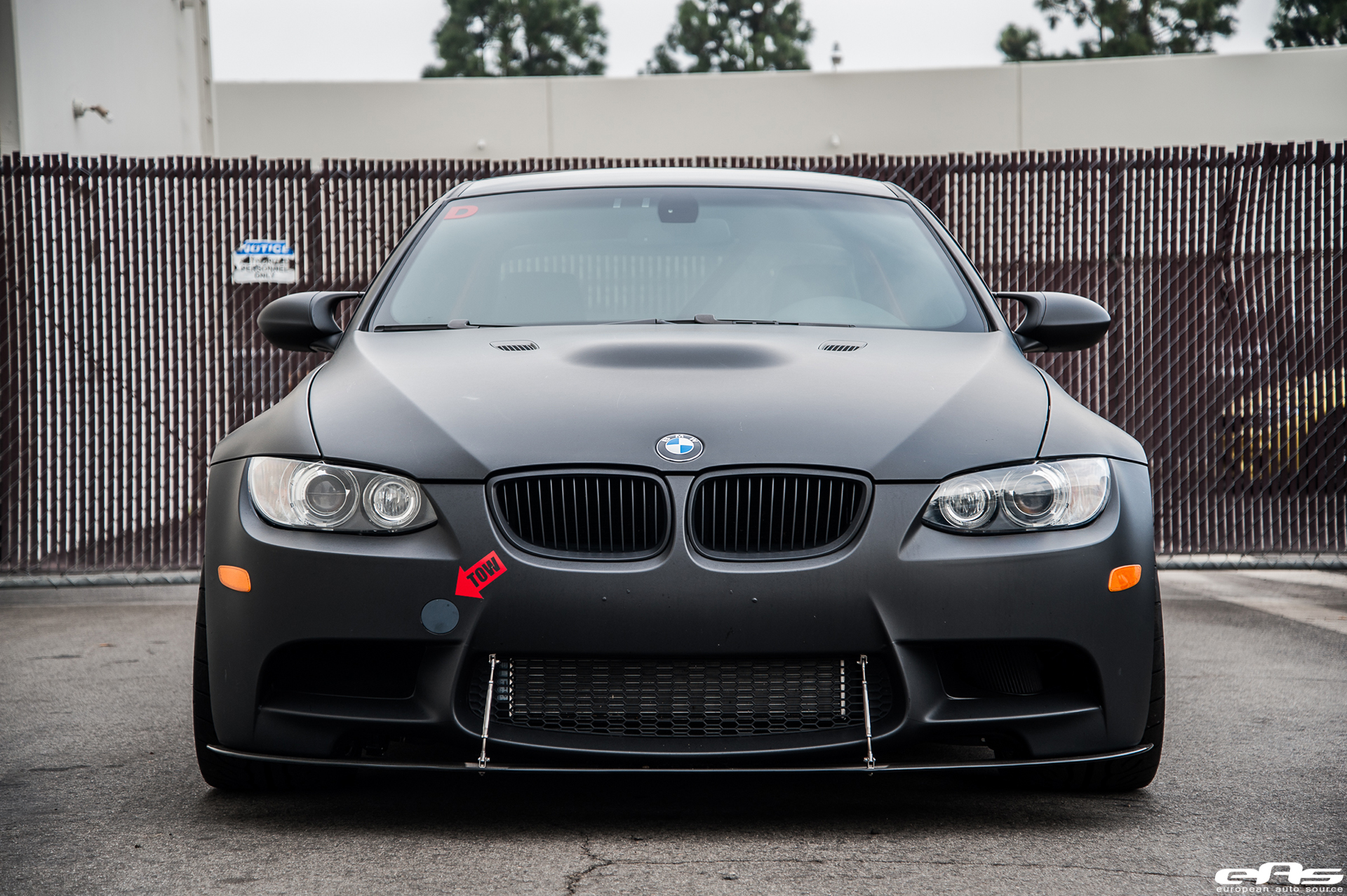 Matte Black Bmw >> A Matte Black Beast Of A BMW M3 By European Auto Source