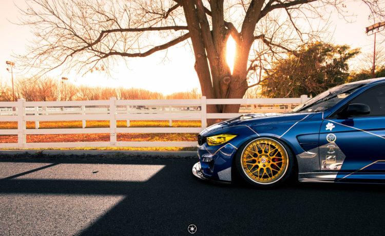 Race Themed BMW M3 Image 7 750x461