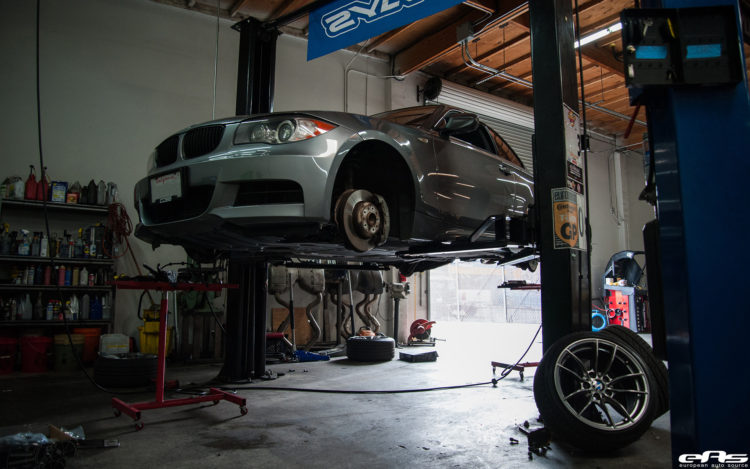 Space Gray 135i Gets A Stoptech Brake Upgrade Installed 1 750x469