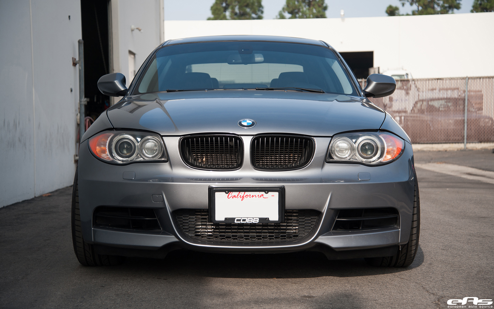 Space Gray 135i Gets A Stoptech Brake Upgrade Installed 10