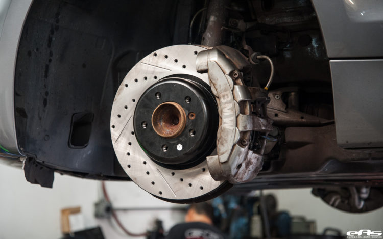 Space Gray 135i Gets A Stoptech Brake Upgrade Installed