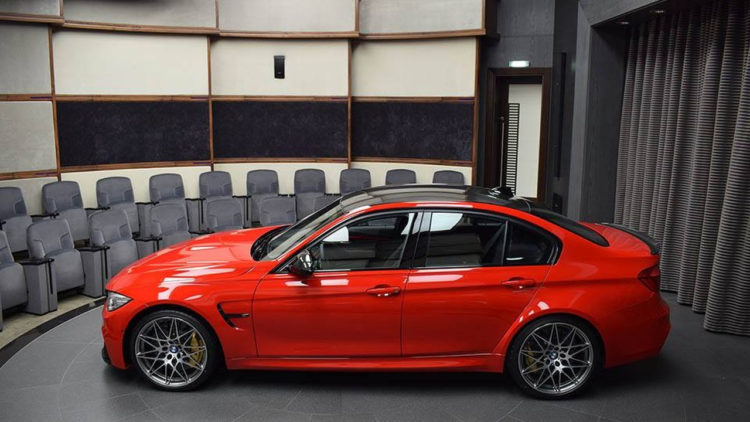 bmw m3 with competition package and ferrari red paint 10 750x422
