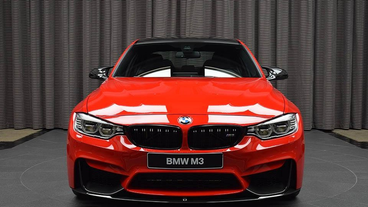 bmw m3 with competition package and ferrari red paint 29