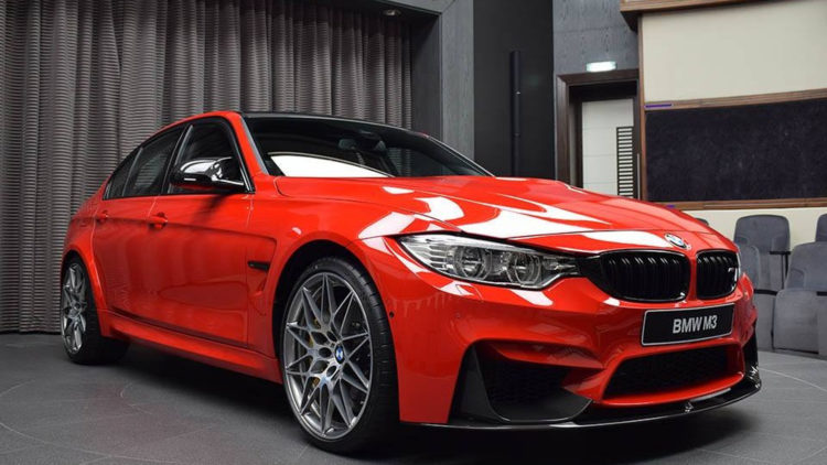 bmw m3 with competition package and ferrari red paint 4 750x422