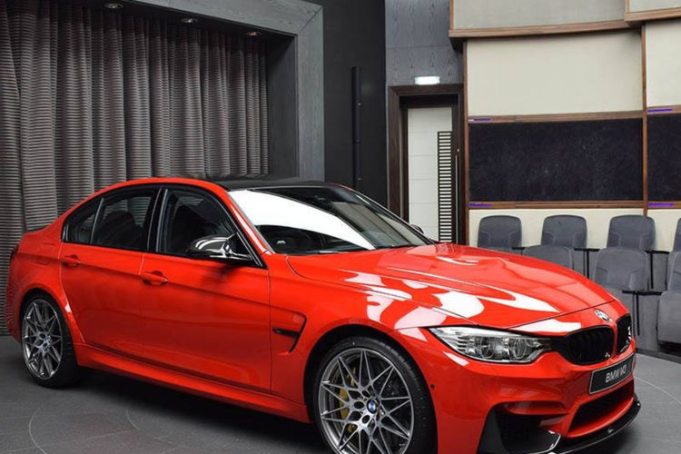 bmw m3 with competition package and ferrari red paint 9 750x500