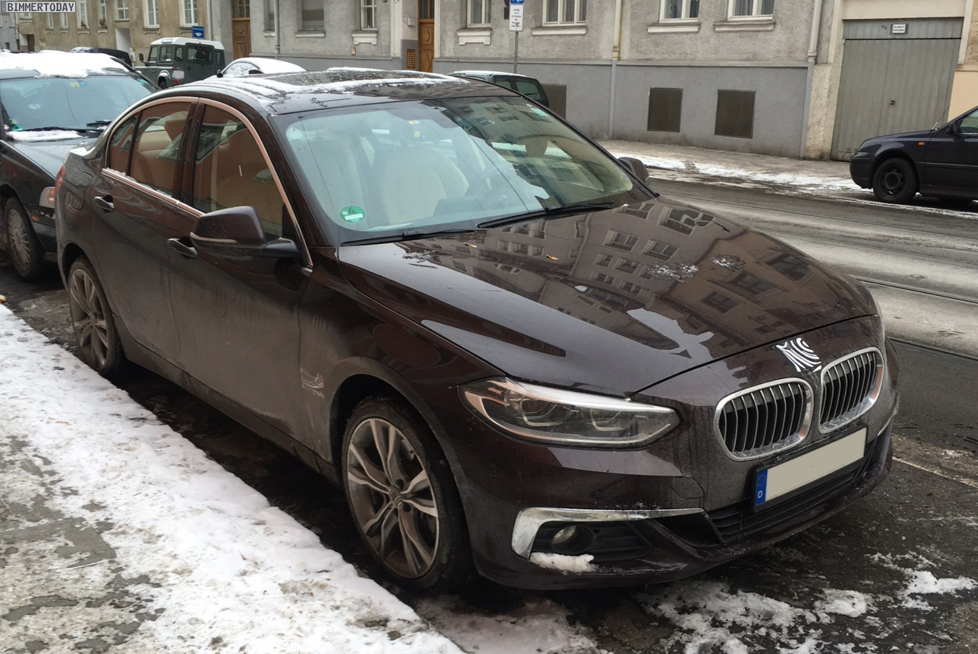 2017 BMW 1er Limousine F52 Muenchen 01