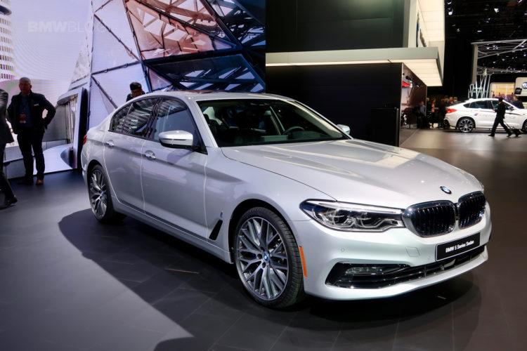 2017 BMW 530e Detroit Auto Show 20 750x500