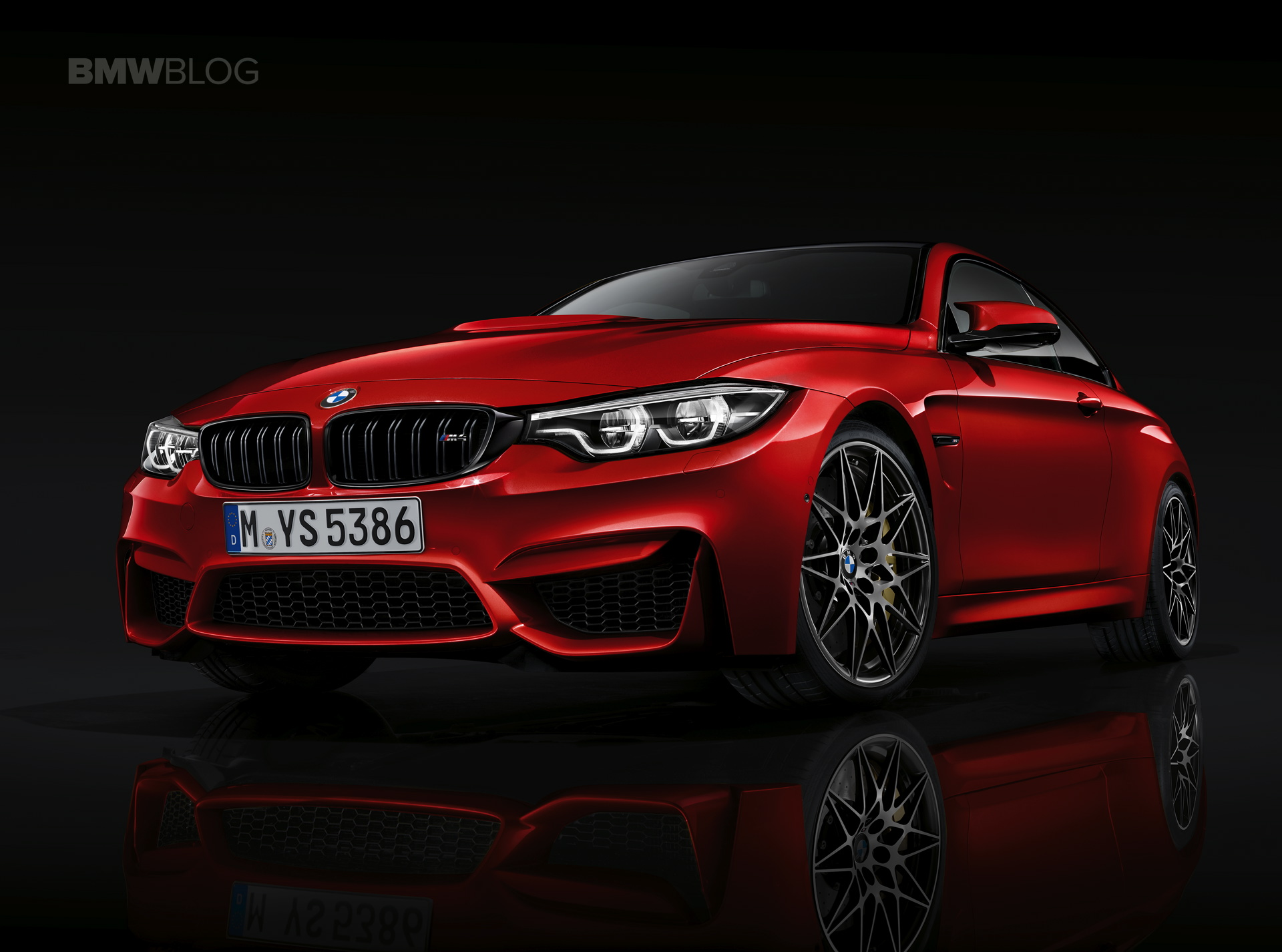 world premiere: bmw m4 coupe and convertible facelift
