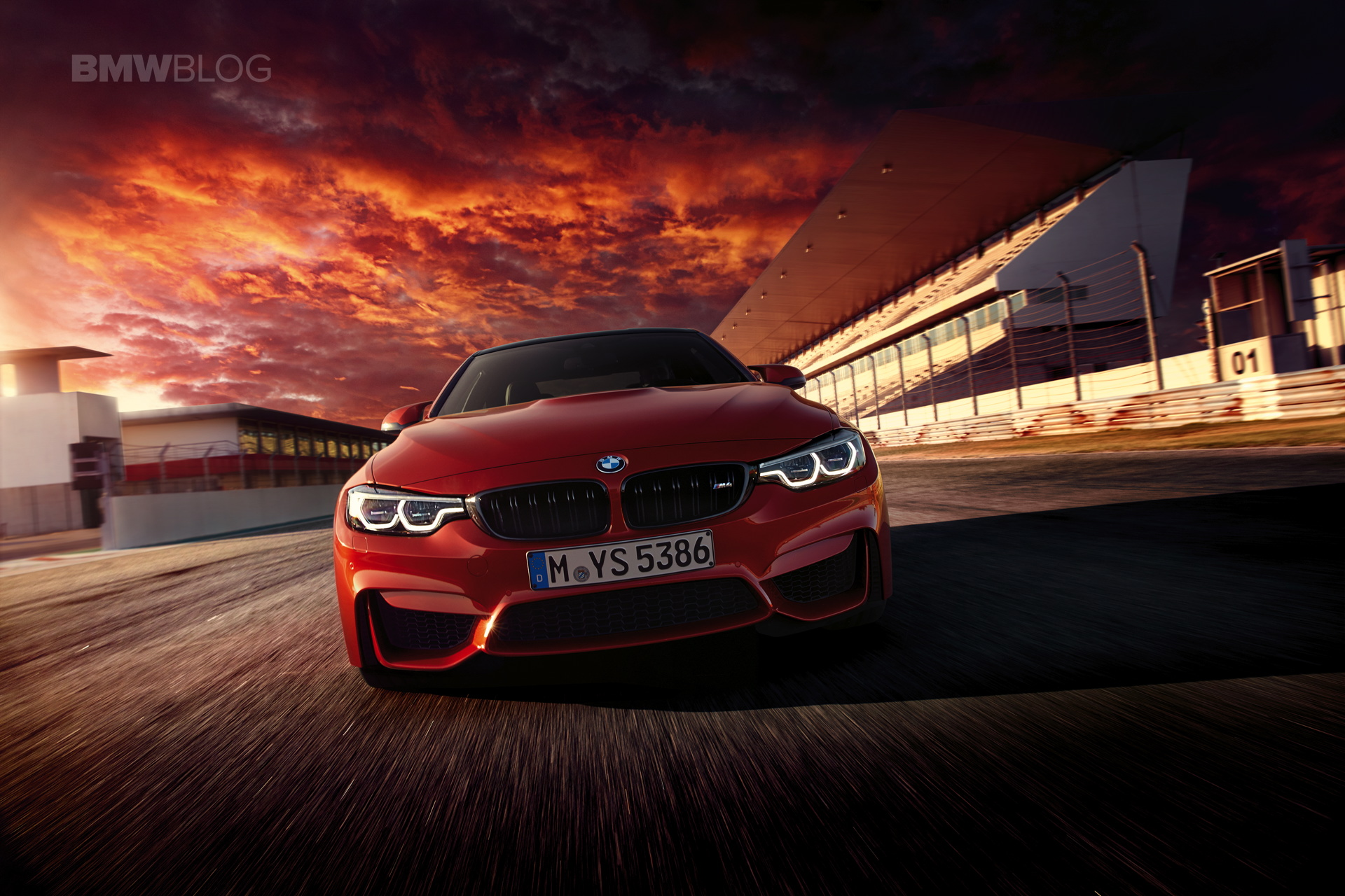 In Action: The new 2017 BMW M4 Coupe, BMW M4 Convertible and BMW M3 Sedan
