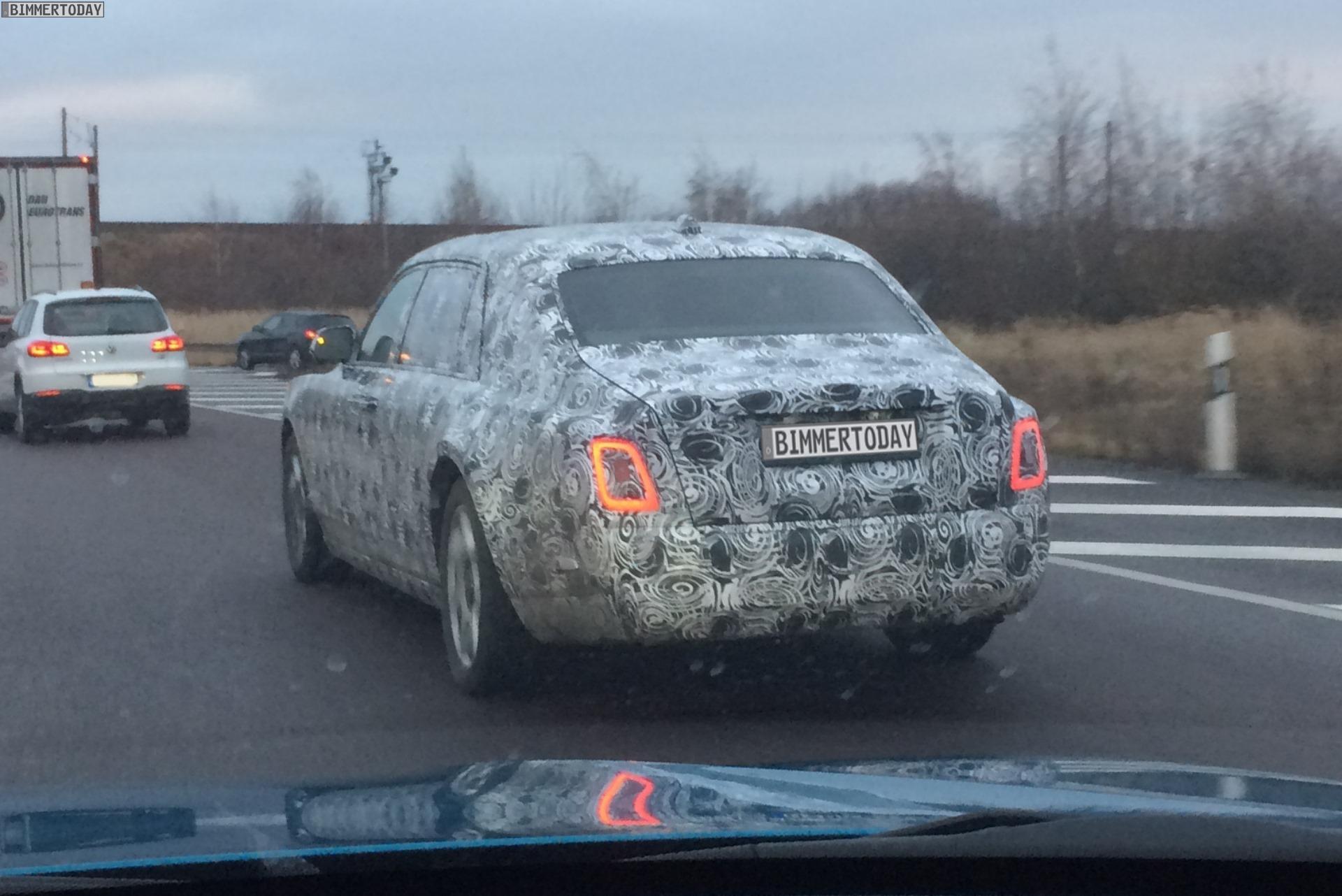 2018 Rolls Royce Phantom Erlkoenig Luxus Limousine 04