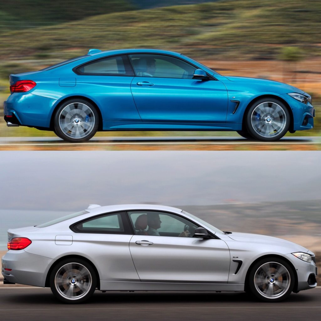 Compare Bmw Models: Photo Comparison: BMW 4 Series Facelift Vs BMW 4 Series