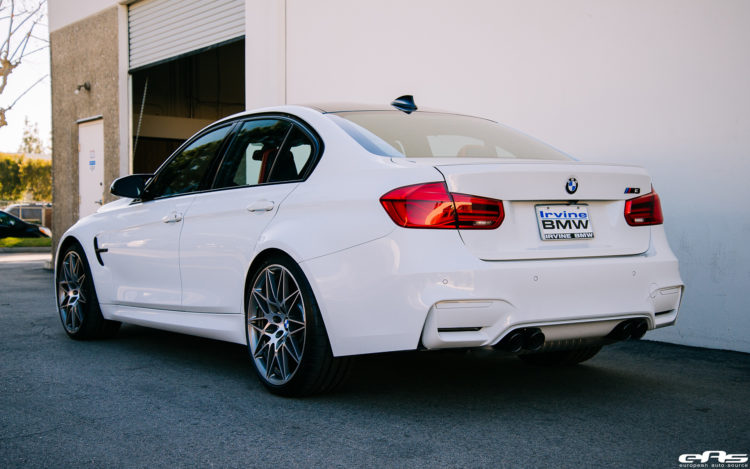 Alpine White BMW M3 Build By European Auto Source