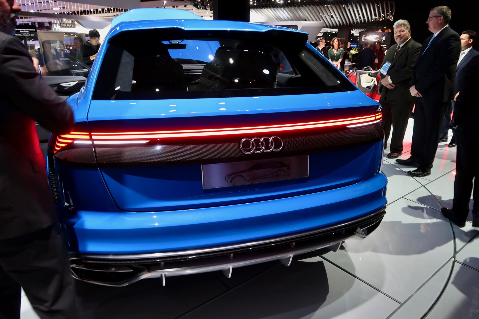 Audi Sq5 2017 Interior >> 2018 Audi Q8 Concept shows off hybrid powertrain, impressive tech