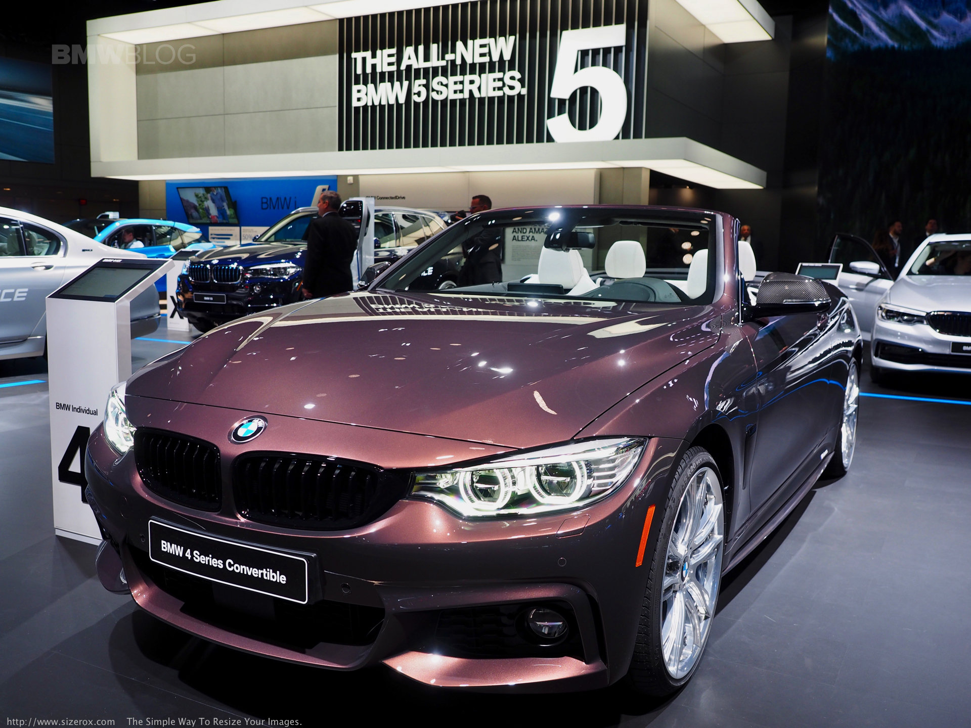 Bmw 440i Convertible In Smoked Topaz And With M Performance Parts