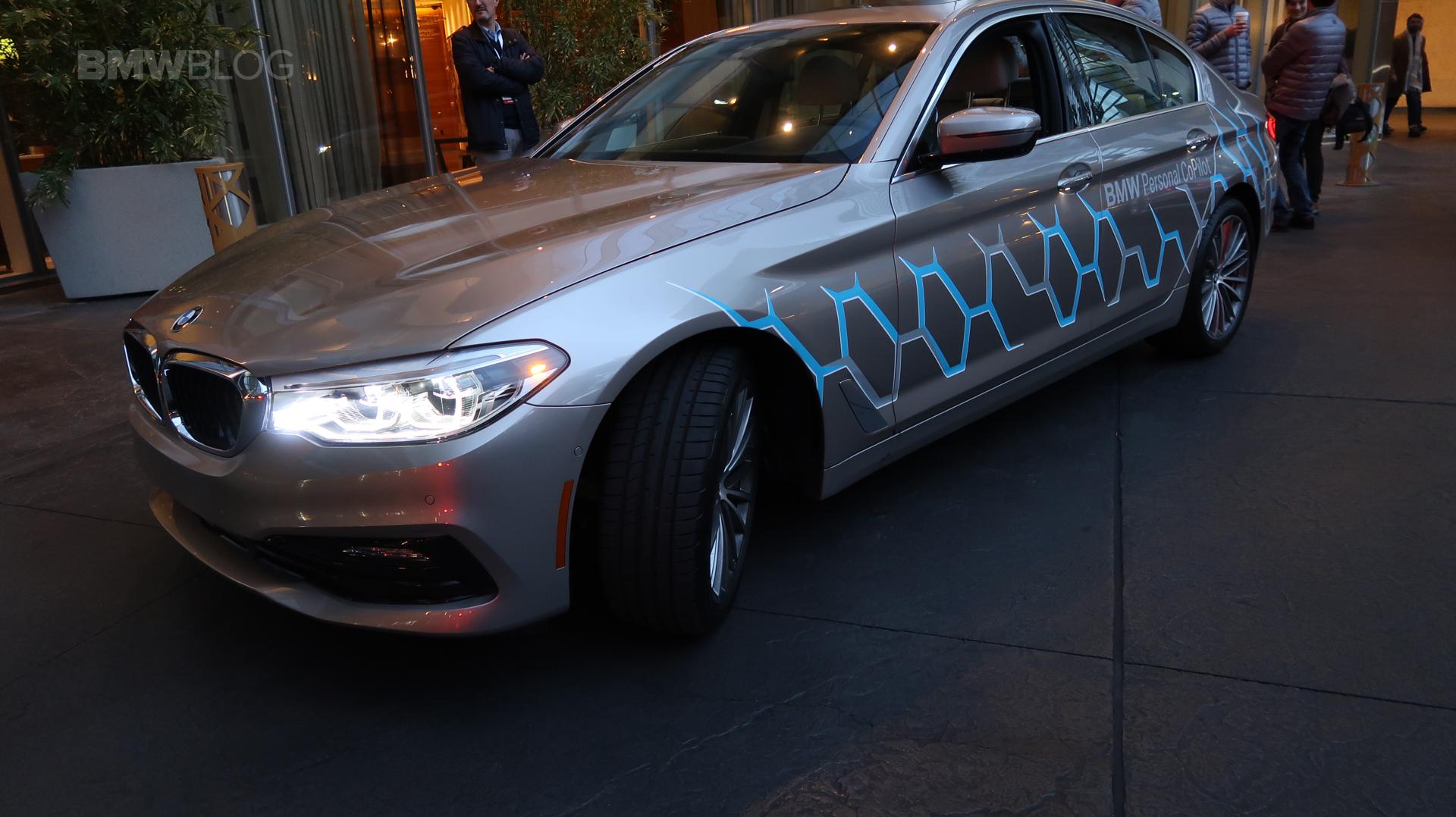 BMW 5 Series Autonomous Prototype 06