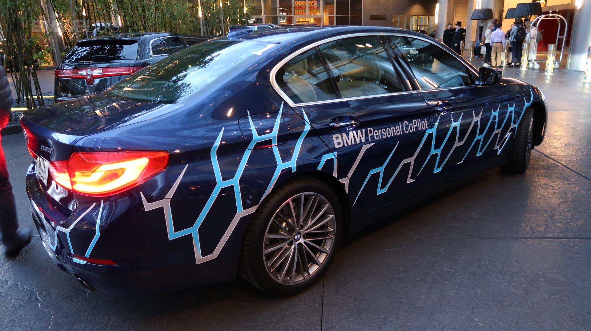 BMW 5 Series Autonomous Prototype 08