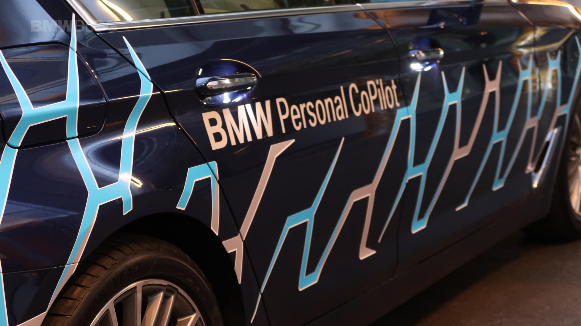 BMW 5 Series Autonomous Prototype 12