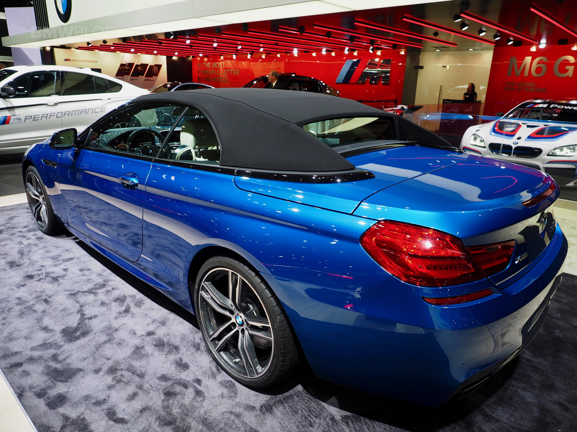 Bmw 6 Series Convertible In Sonic Speed Blue At 2017