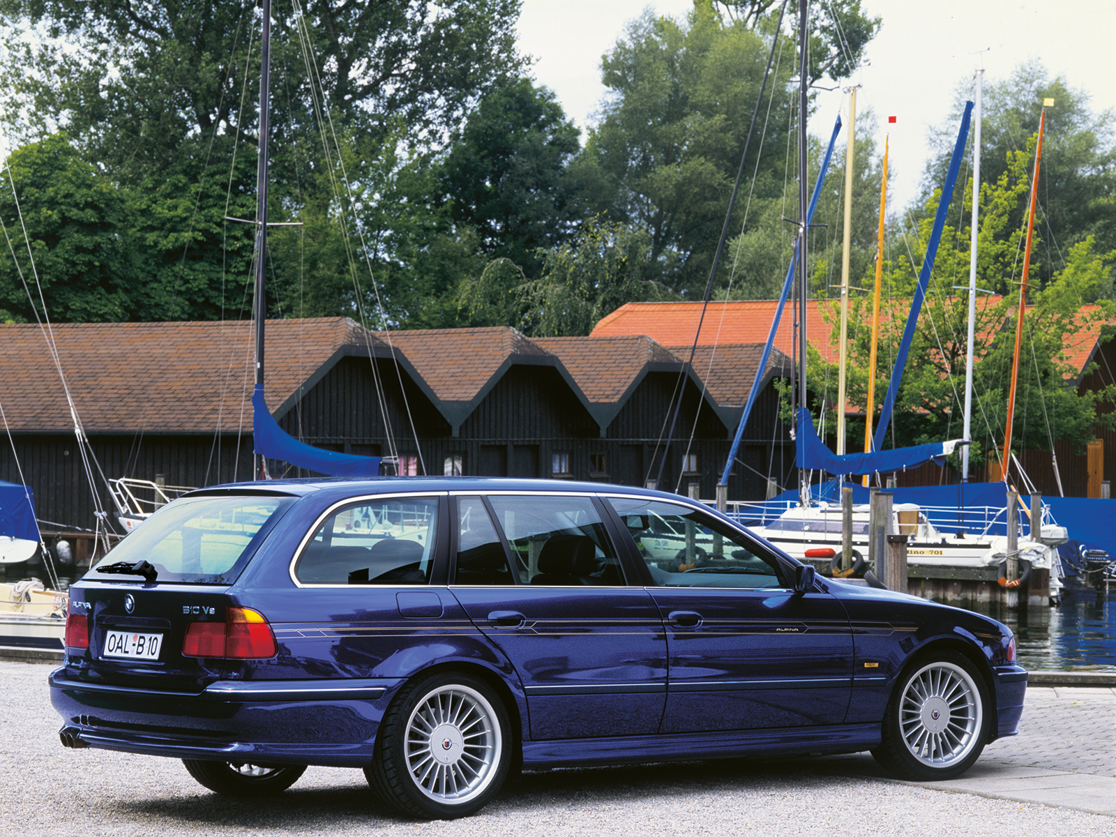 20 Years Of The Bmw E39 Alpina B10 V8 Anniversary In Buchloe 1997 528i Wiring Harness Touring 750x563