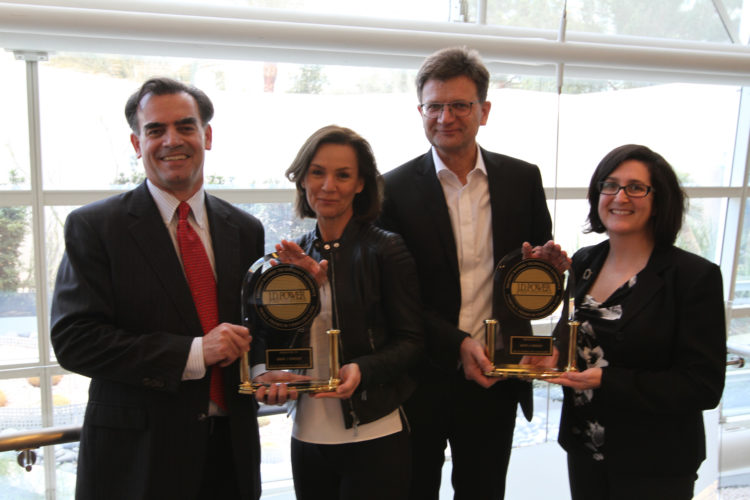 BMW Awards in Inaugural JD Power Tech Experience Index 01 750x500