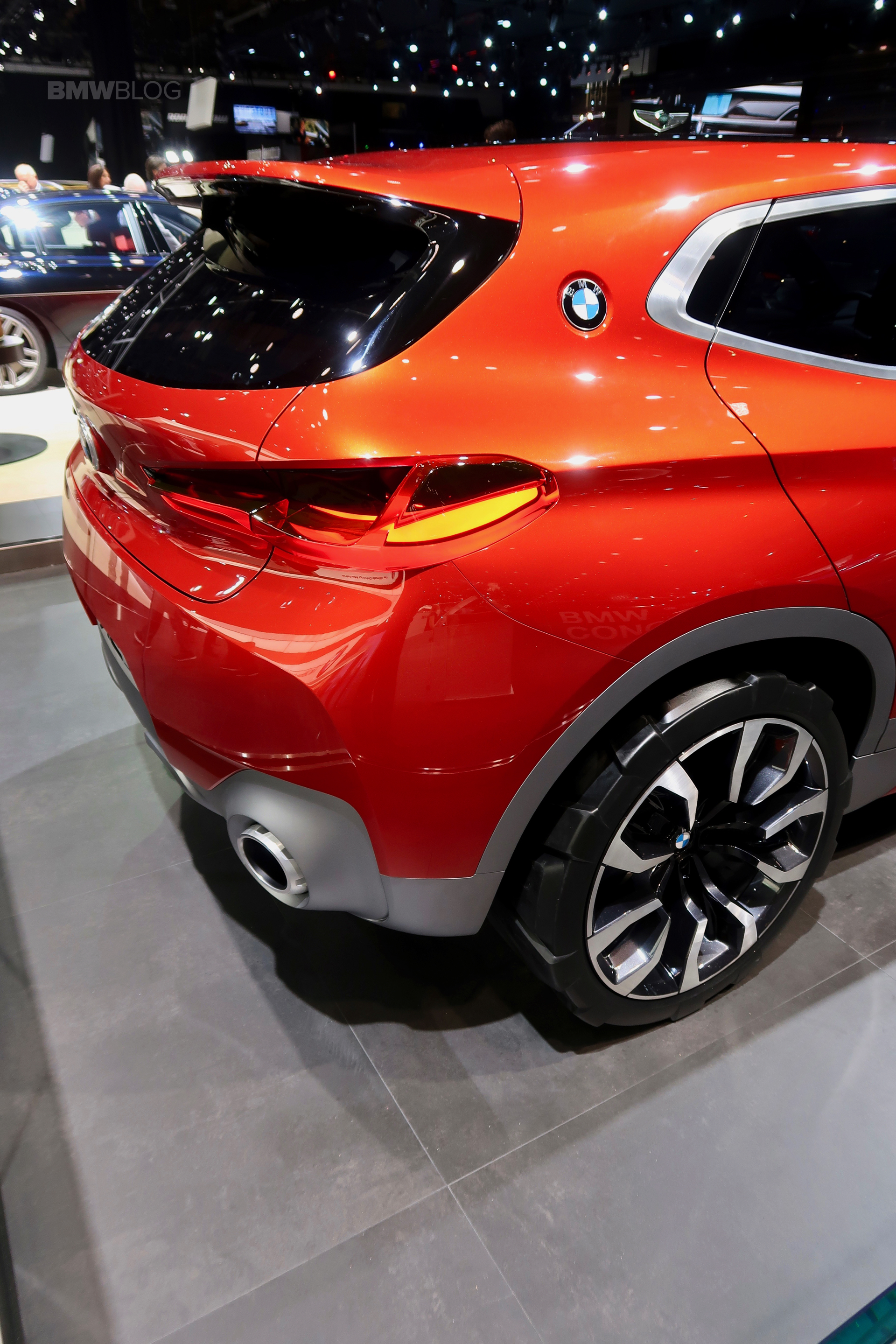 BMW X2 Concept Lands In Detroit This Week