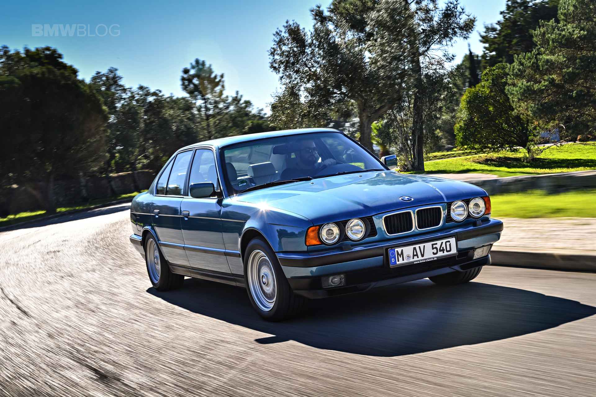 Beautiful Photoshoot With The Bmw E34 5 Series