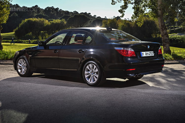 BMW E60 5 Series images 07 750x500