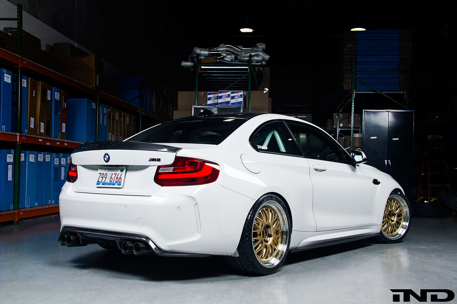 Bmw M2 Gets Some Bbs Wheels