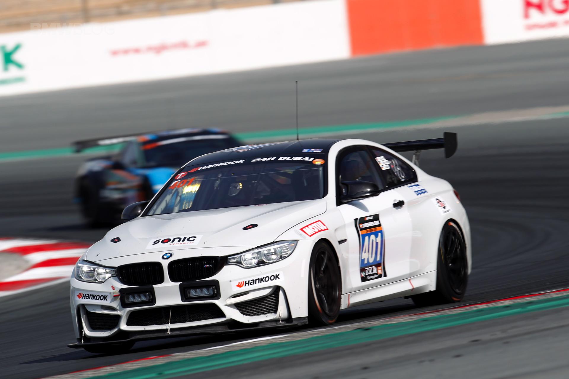 Bmw M4 Gt4 Masters First Endurance Test In Dubai