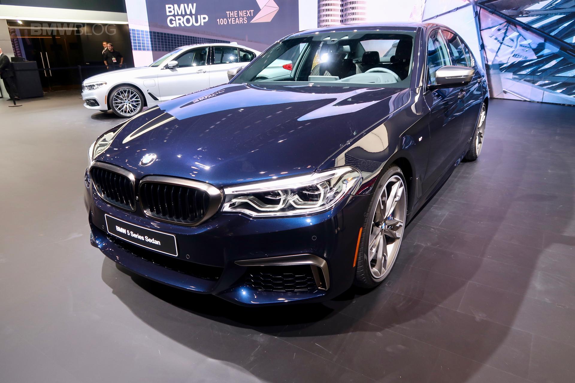 BMW M550i Detroit Auto Show 01