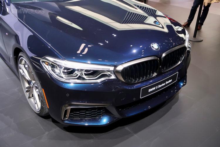 BMW M550i Detroit Auto Show 09 750x500