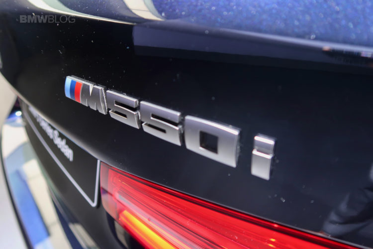 BMW M550i Detroit Auto Show 16 750x500