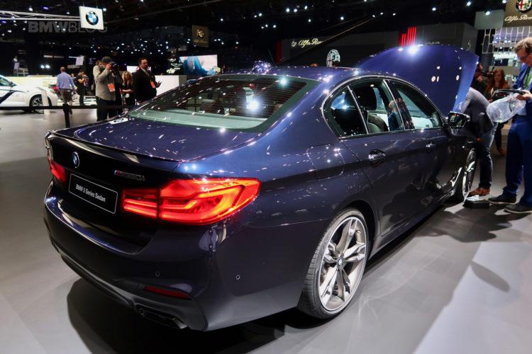 BMW M550i Detroit Auto Show 17 750x500