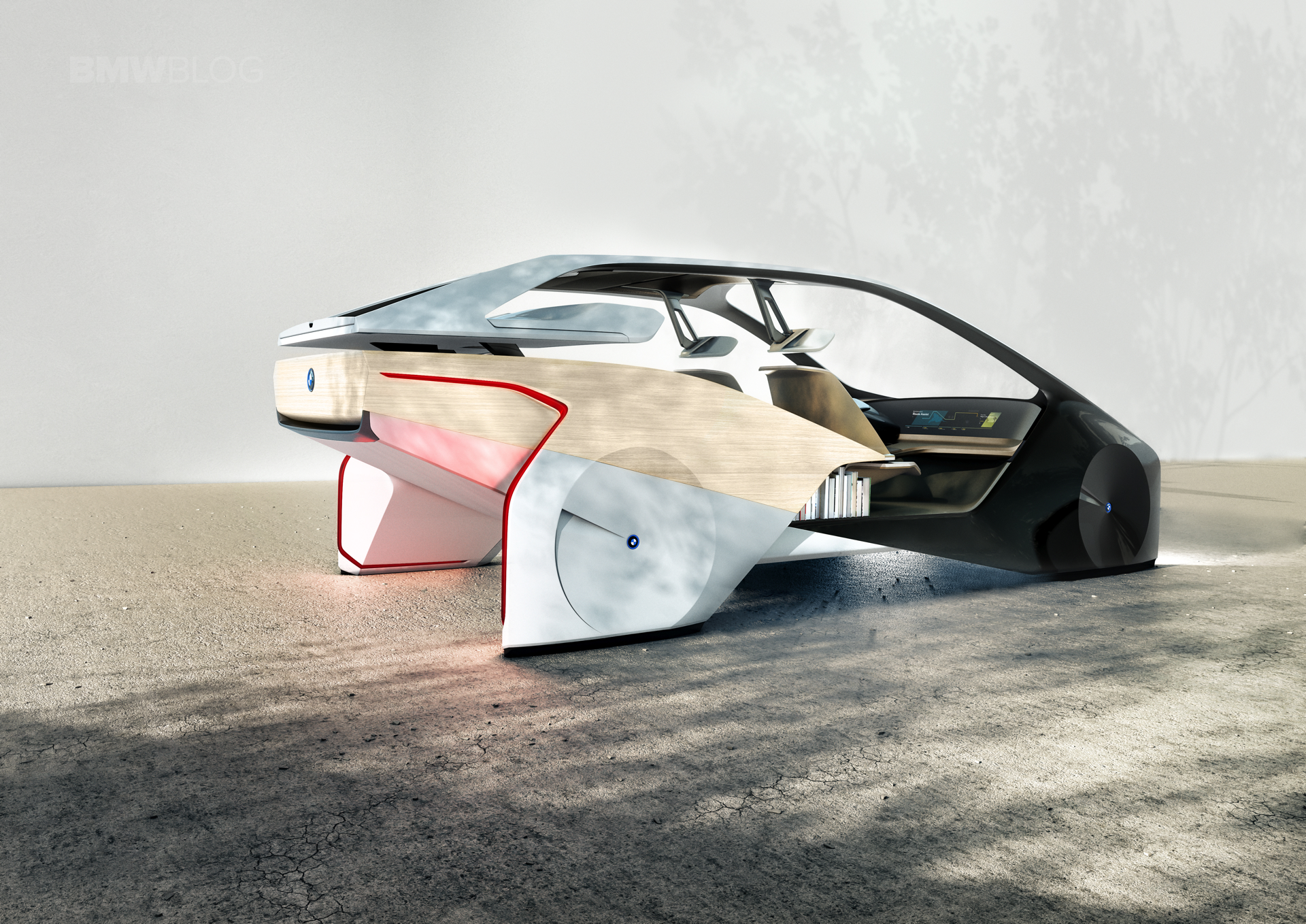 BMW is unveiling its BMW i Inside Future sculpture 01