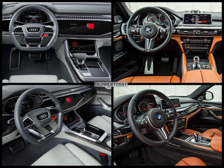 On The Inside Audi Has Done A Good Job Of Making Q8 S Interior Seem Incredibly Futuristic While Also Still Feeling Very Much Like An