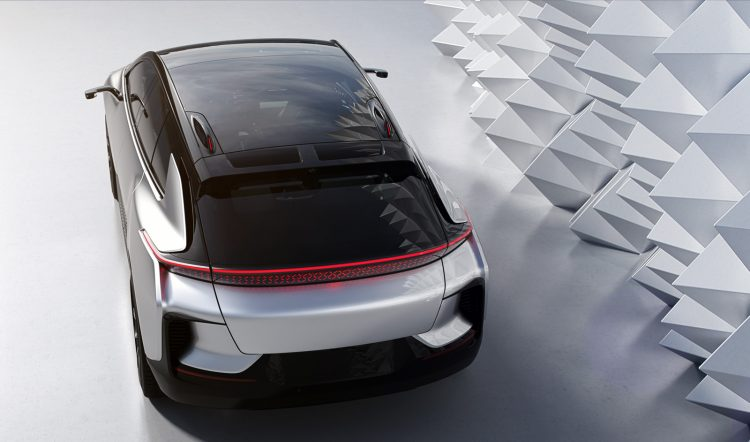 Faraday Future FF 91 rear 750x442