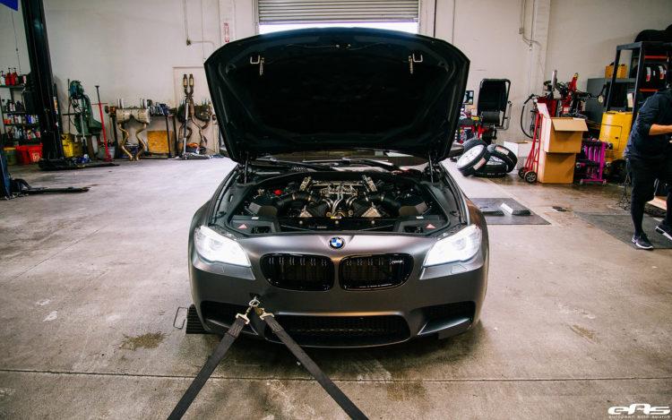 Frozen Gray BMW F10 M5 With ADV1 Wheels 2 750x469