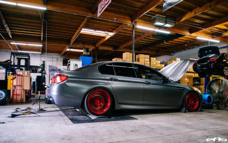 Frozen Gray BMW M5 With ADV.1 Wheels