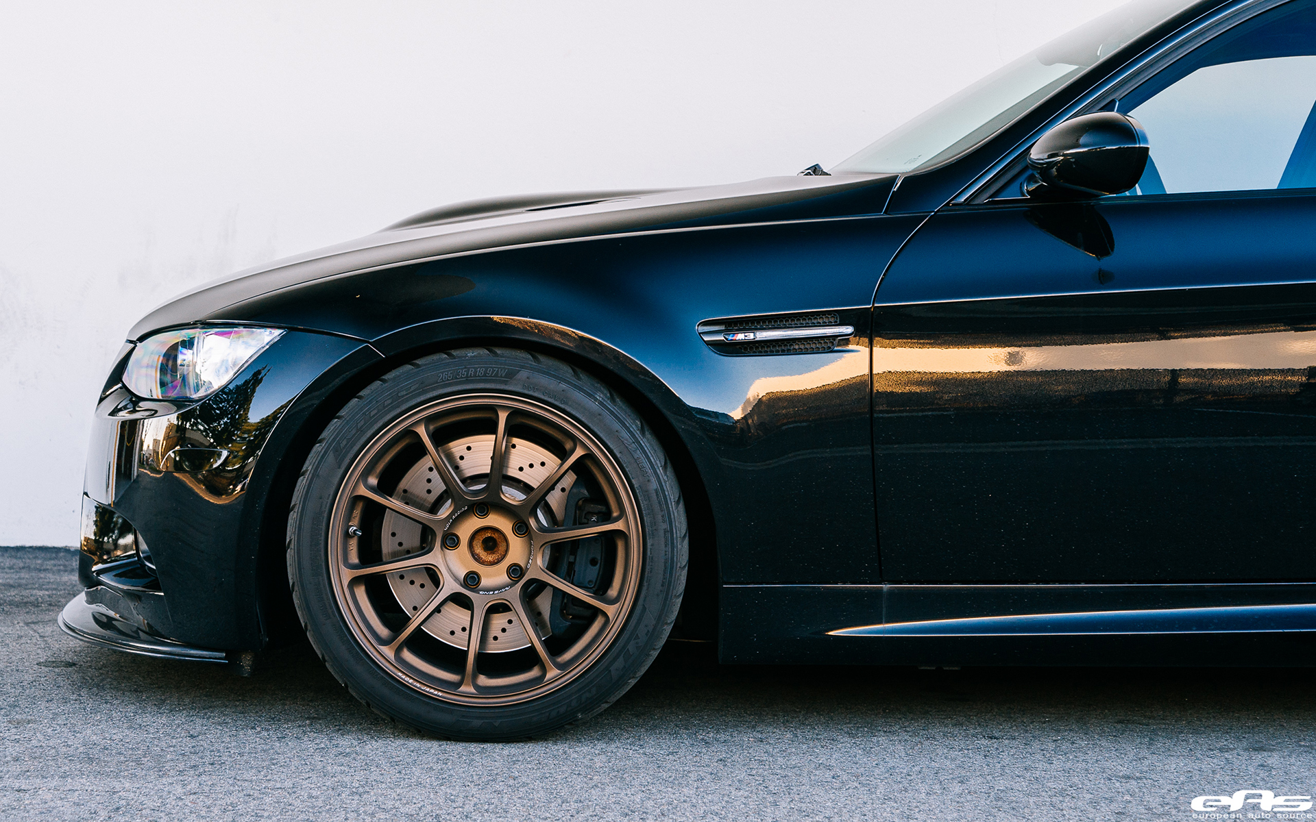 Jerez Black Bmw E90 M3 Sedan Gets A Few Tweaks