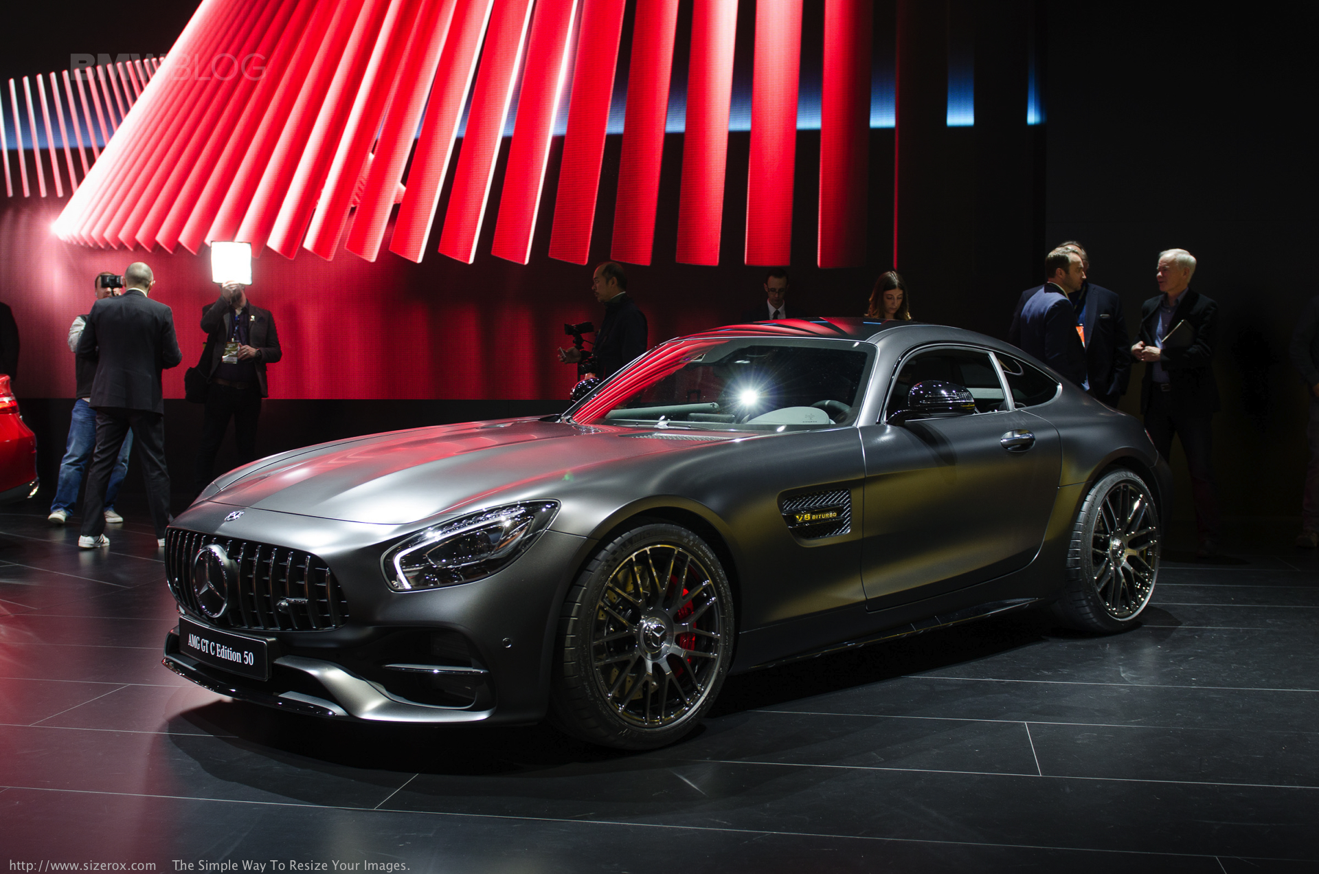 Mercedes Revealed The New Mercedes Amg Gt C Coupe In Detroit
