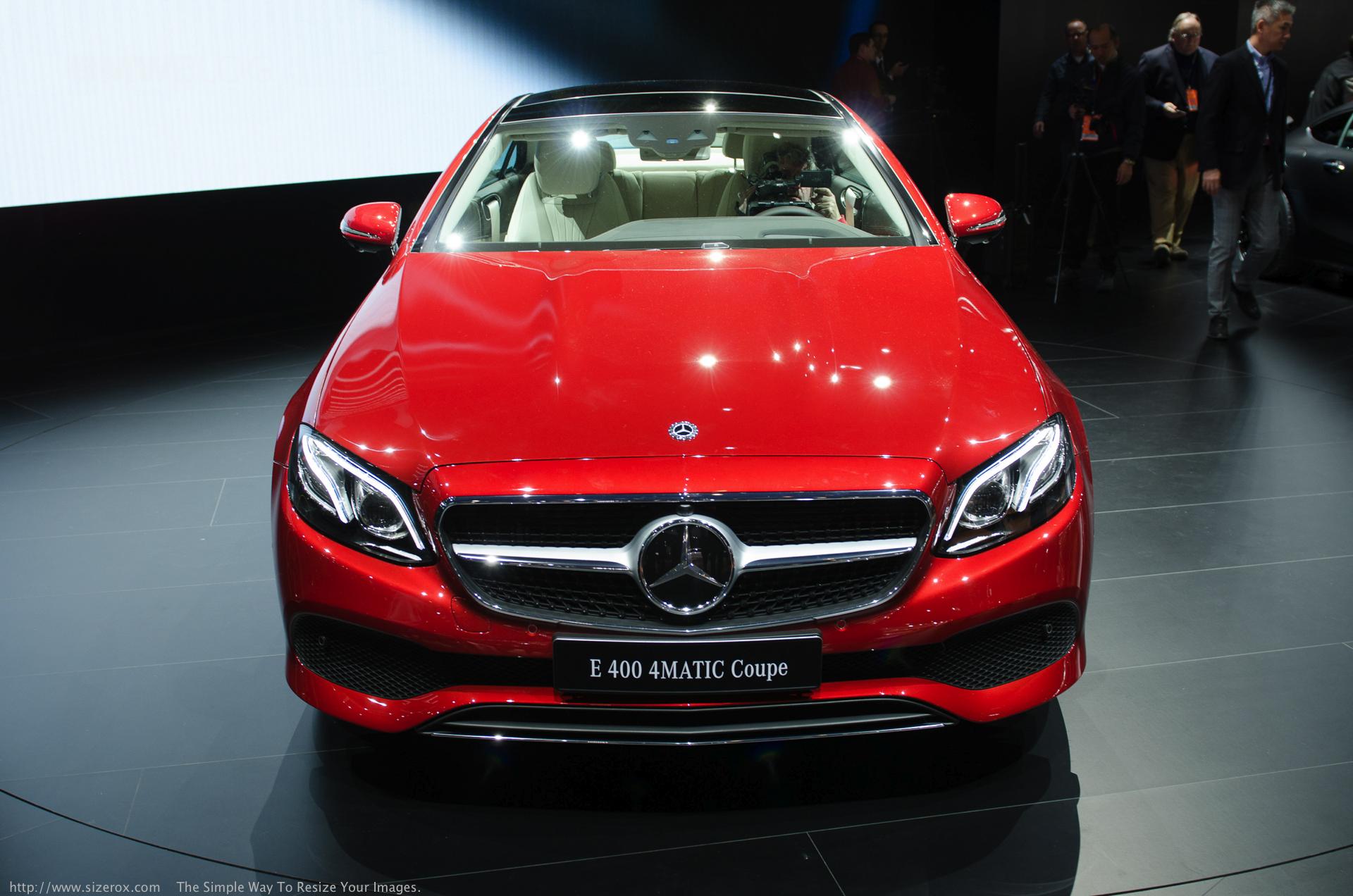 Mercedes Benz E Class Coupe 01