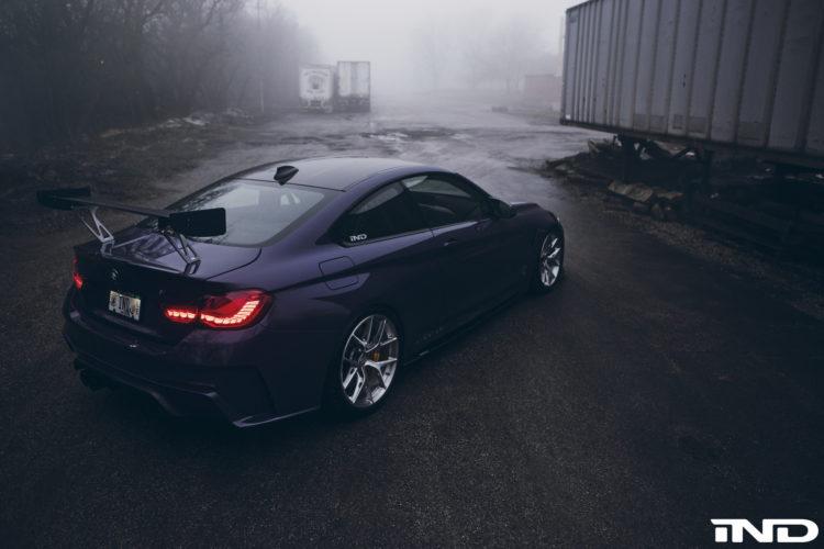 Purple BMW M4 By IND Distribution Image 11 750x500