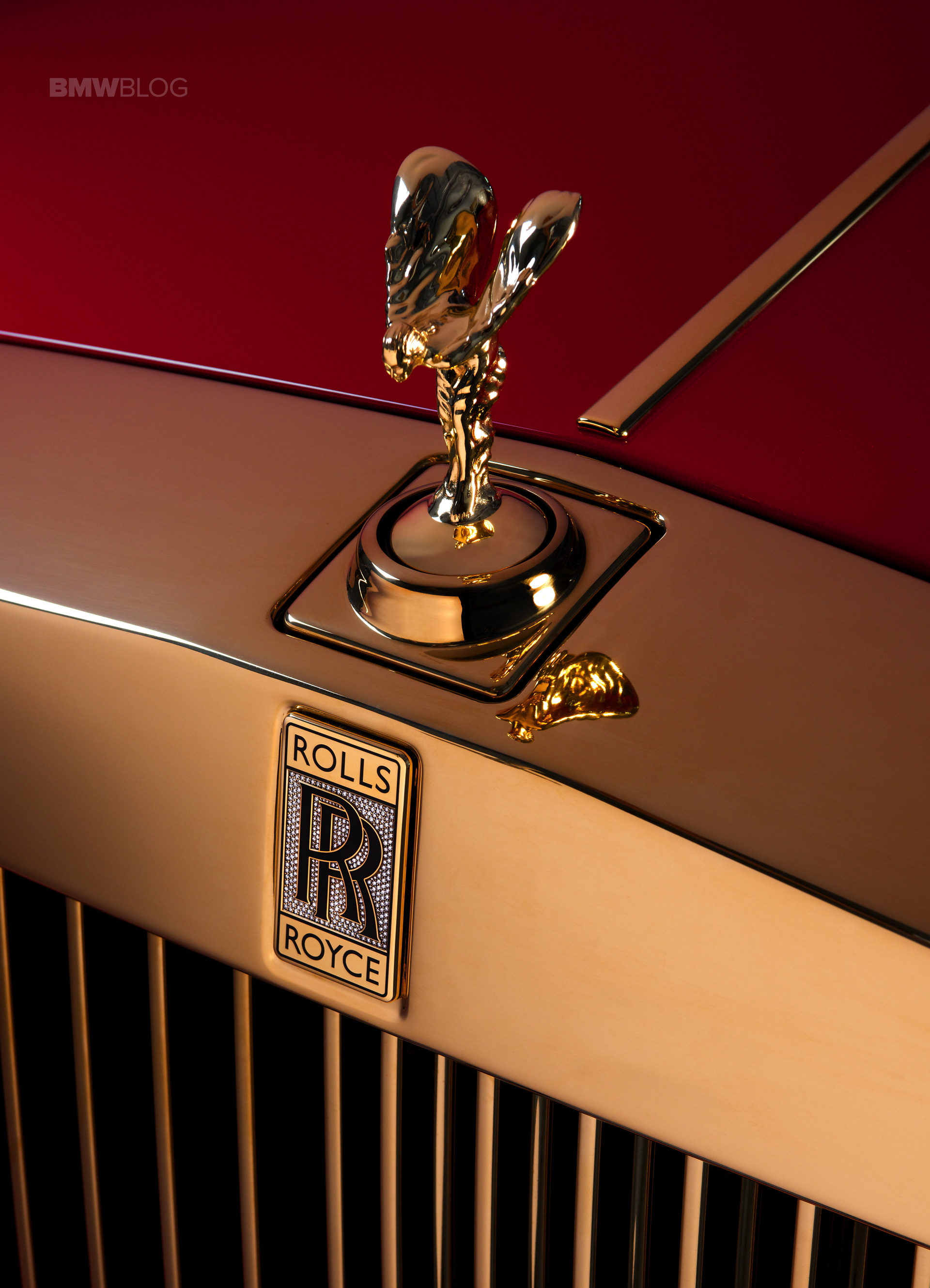 Rolls Royce Phantom Golden Bespoke Models For China