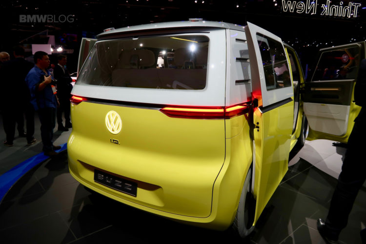 Vw Launches The Electric Id Buzz At The 2017 Detroit Auto Show