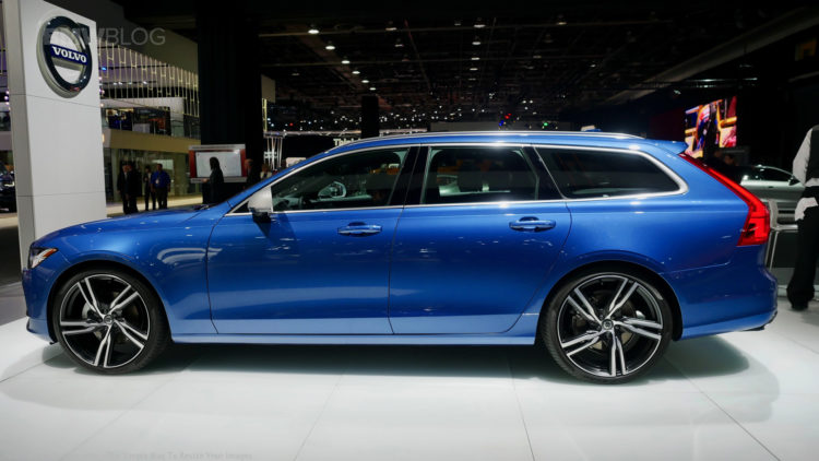 Volvo debuts the all-new V90 Wagon in Detroit